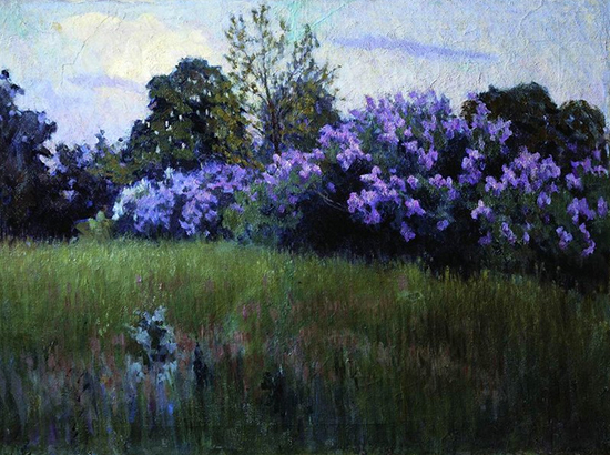 Lilacs in Bloom by Tit Dvornikov