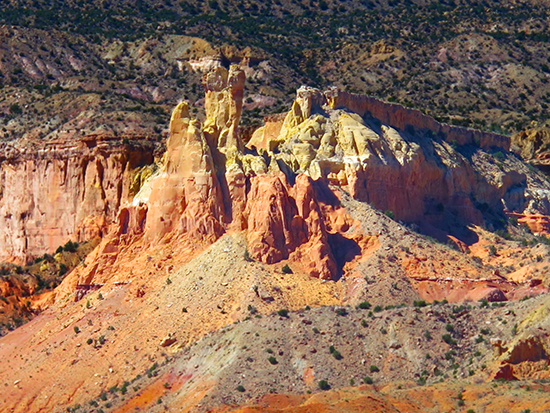 Chimney Rocks, Ghost Ranch, New Mexico