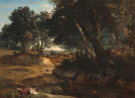 Forest of Fontainebleau 1834 Camille Corot