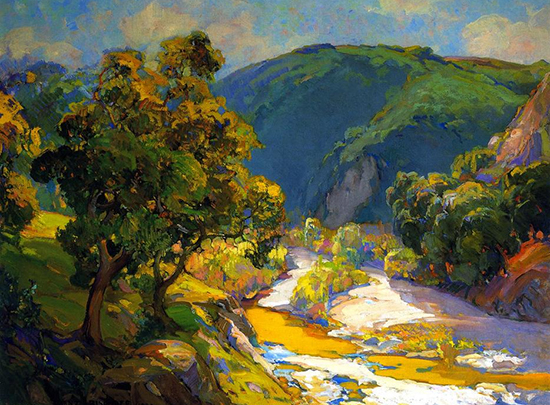 Vista Arroyo by Franz Bischoff