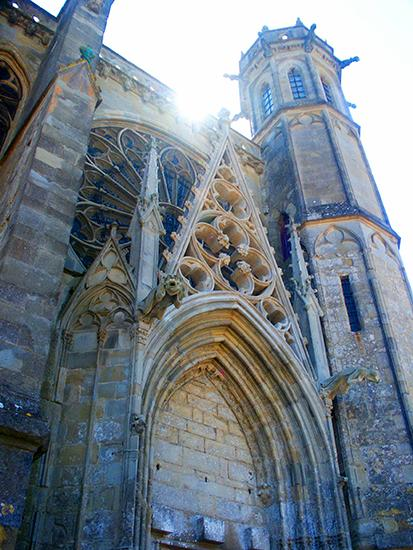 St. Nazaire Cathedral, Carcassonne.©J.Hulsey