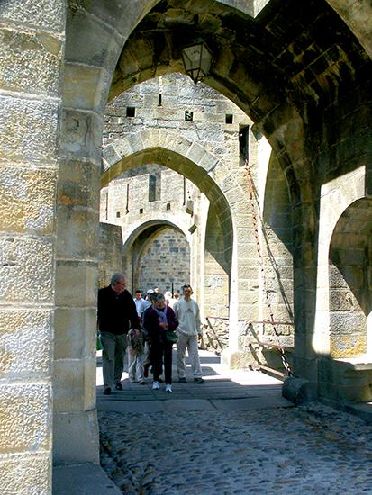 Entrance to Carcassonne.©J.Hulsey