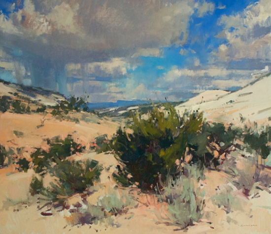 Landscape Painting by Jill Carver