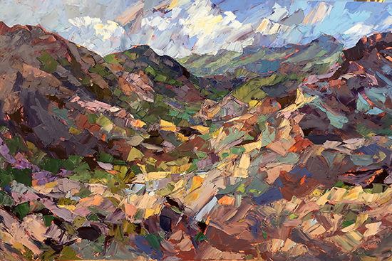 "Path to the Canyon, 24 x 36"", Oil, © Cynthia Rosen"