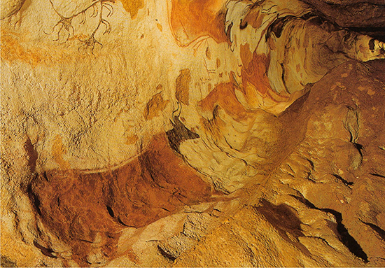 Cave Paintings in Lascaux II, France