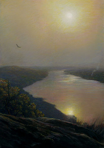 Pastel Painting by Rob Evans
