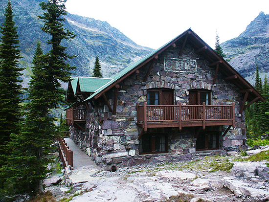 photo of Sperry Chalet, Glacier National Park, by John Hulsey