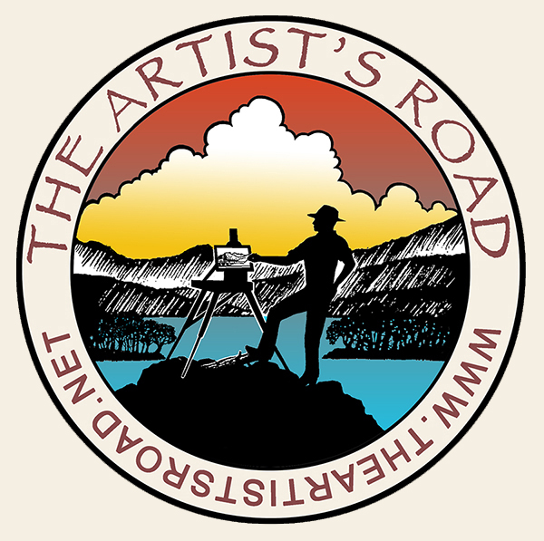 The Artist's Road Round Logo