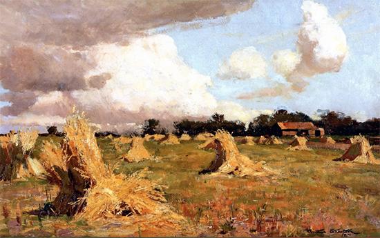 Australian December, 1887, Sir Arthur Streeton