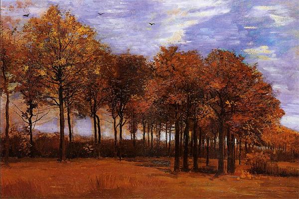 Autumn Landscape, 1885, Vincent van Gogh