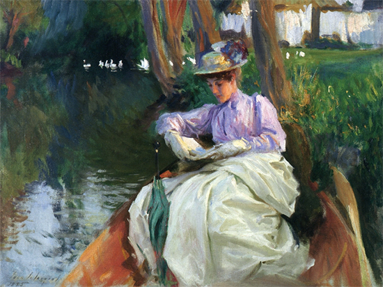 By the River, 1885, John Singer Sargent