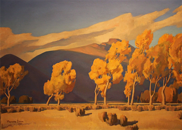 November in Nevada, 1935, Maynard Dixon