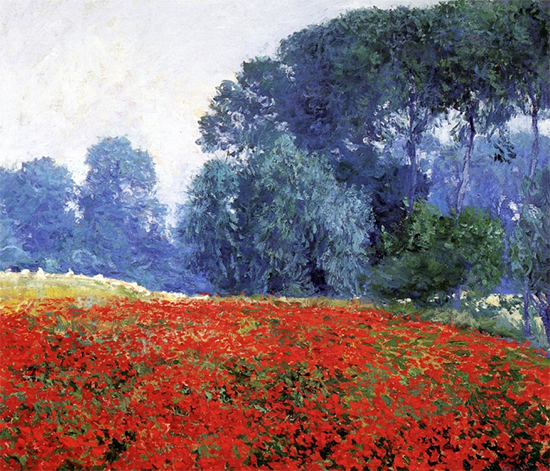 Poppy Field, 1910, Guy Rose