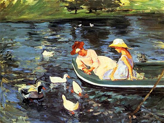 Summertime, 1894, Mary Cassatt