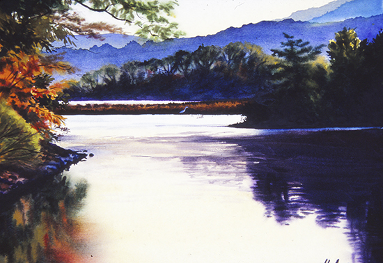 Watercolor Painting by John Hulsey
