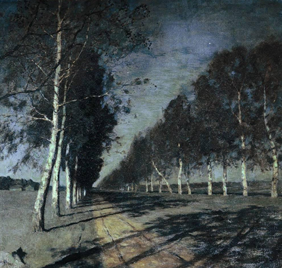 Oil Painting by Isaac Levitan