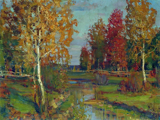 Autumn, 1892, Isaac Levitan
