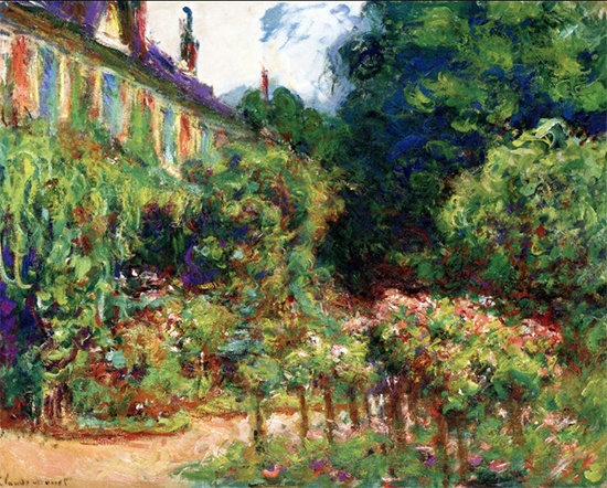 The Artist's House at Giverny, 1913, Claude Monet
