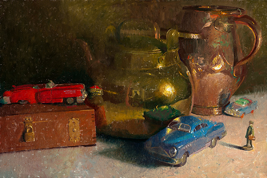 Still Life Oil Painting by C. W. Mundy