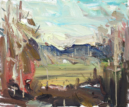 """Willamette Valley, 20 x 24"""", Oil, © Anton Pavlenko"""