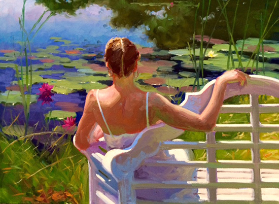 Figurative Landscape Painting © Dennis Perrin