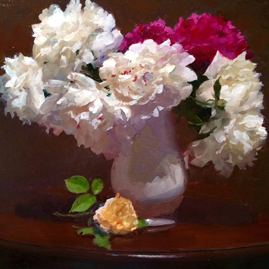 Floral Still Life Oil Painting © Dennis Perrin