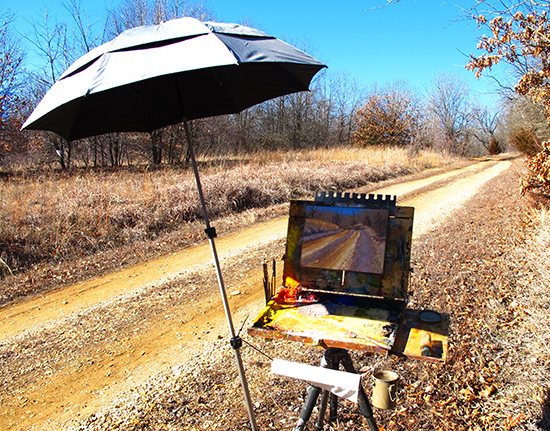 Plein Air Painting in Kansas