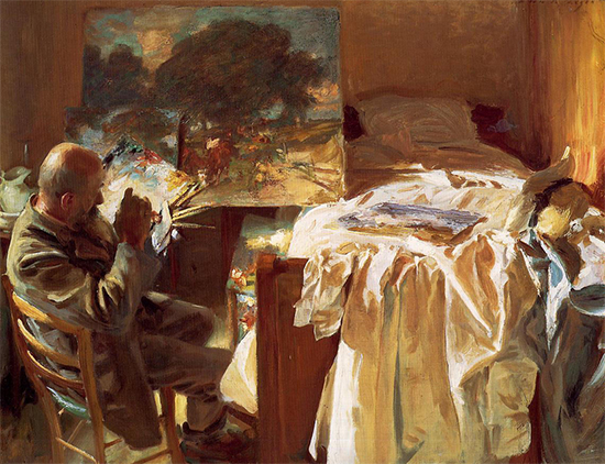 An Artist in His Studio, 1904, John Singer Sargent