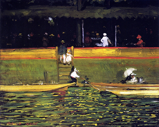 At Joinville, 1896, Robert Henri