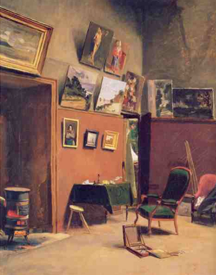 Bazille Studio in the Rue de Furstenberg