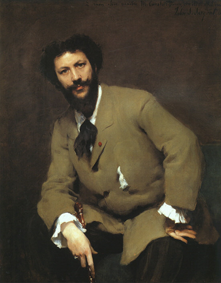 Portrait of Carolus Duran by Sargent