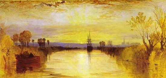 Chichester Canal by Turner