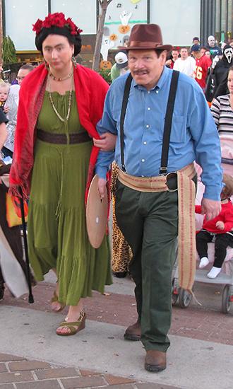 Frida and Diego Marily...
