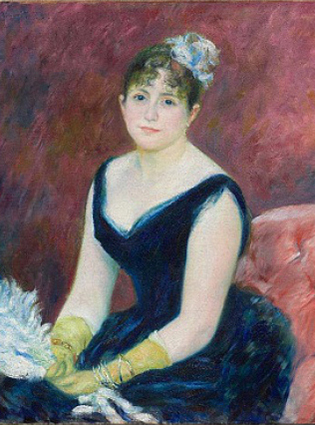 Portrait by Renoir Digitally Updated