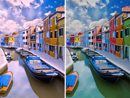 EnChroma Comparison Image from Venice