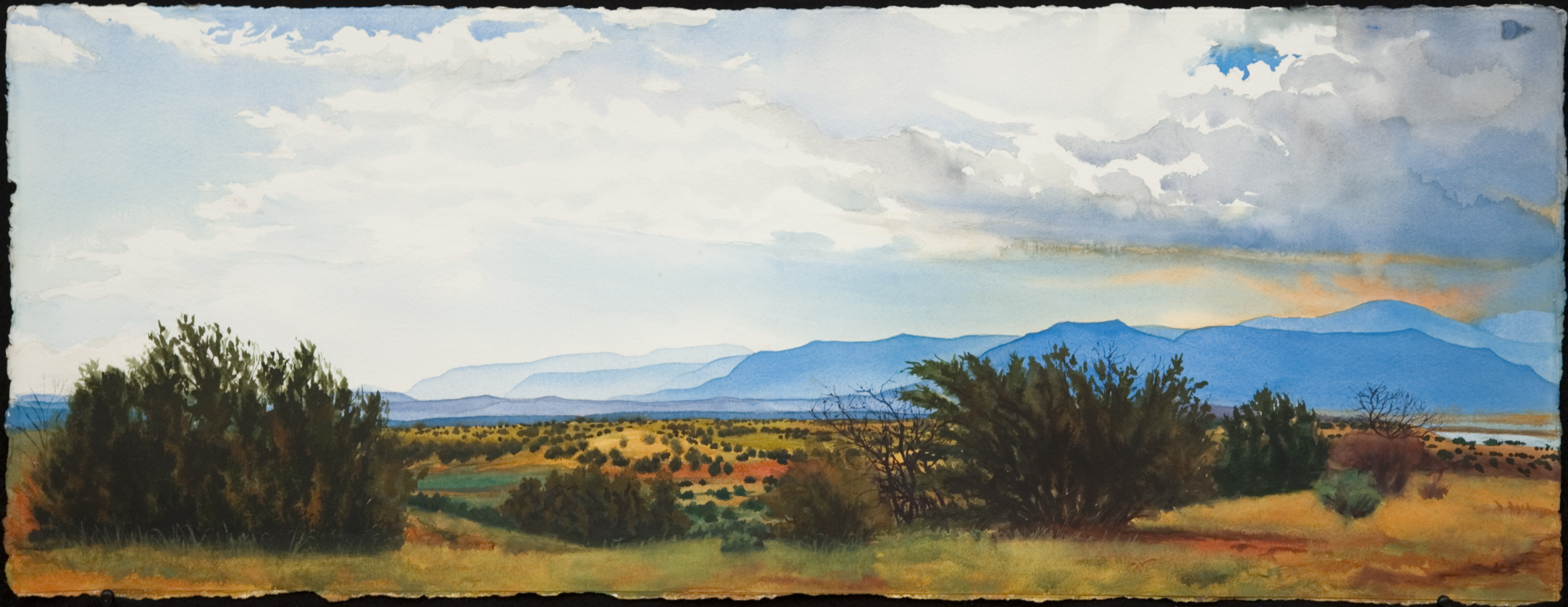 Ghost Ranch IV by John Hulsey