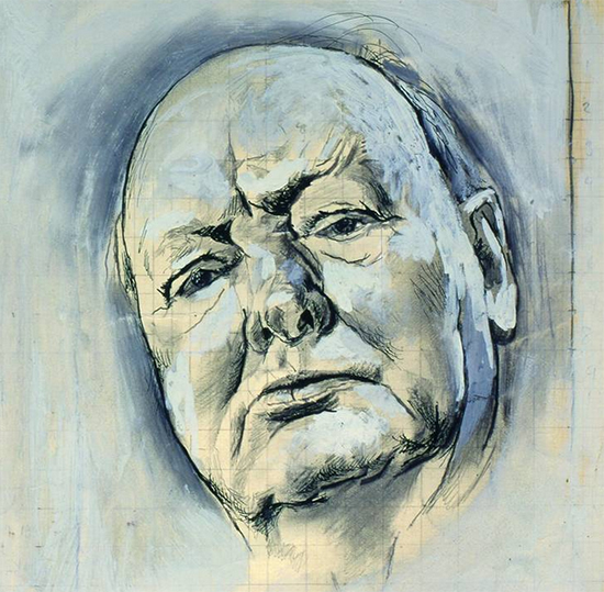 Sketch of Winston Churchill by Graham Sutherland