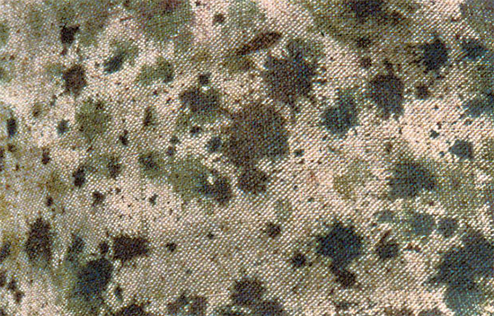 Hand painted French camouflage fabric, Eugene Corbin, 1914