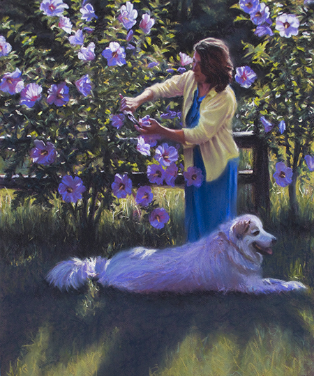 In the Summer Garden by John Hulsey