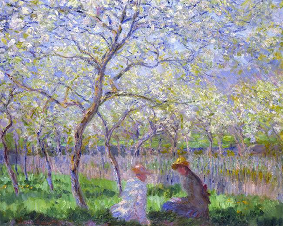Le Printemps 1886 Claude Monet