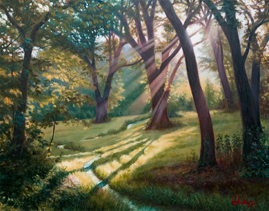Meadow Walk by John Hulsey