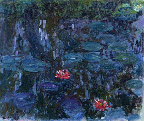 Nymphaea Reflets de Saule by Monet