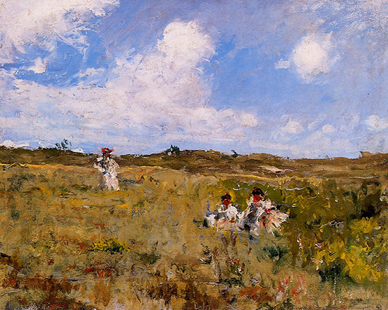 Landscape Painting by William Merritt Chase