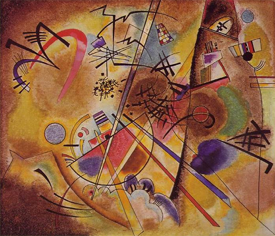 Small Dream in Red, 1925, Wassily Kandinsky