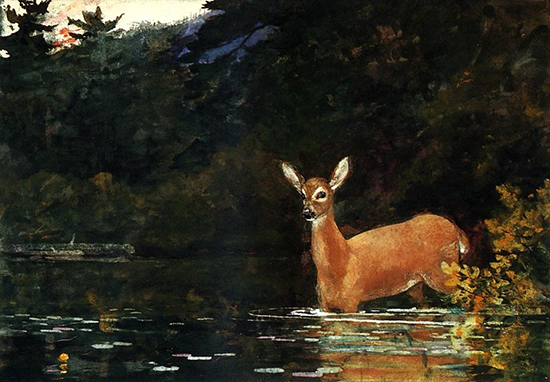 Watercolor by Winslow Homer