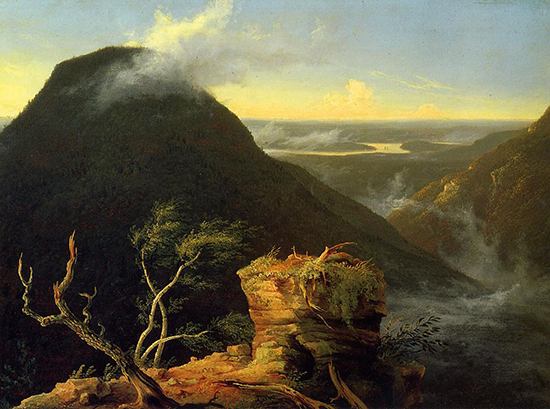 Hudson River Landscape by Thomas Cole
