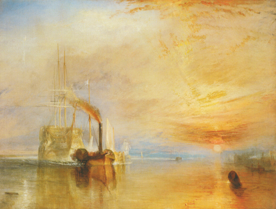 The Fighting Temeraire by Turner