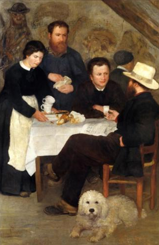 The Inn of Mother Anthony by Renoir