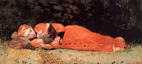 The New Novel 1877 Winslow Homer