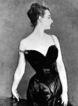 The Original Madame X by Sargent